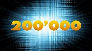 200 000 au 18 janvier 2019